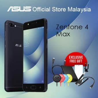 Asus Zenfone 4 Max ZC520KL (3GB / 32GB ROM / 4100 mAh Battery), Gift Worth RM199!!!