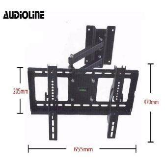"AUDIOLINE Single Arm 32"" - 65"" LED/LCD Flat Panel TV Wall MountFull Motion Bracket"