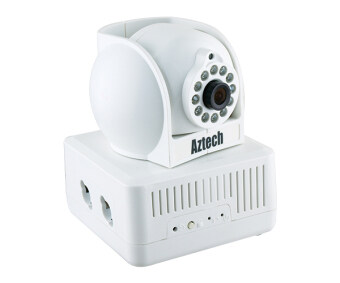 Aztech HIPC700 Build In Homeplug IP Camera