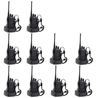 Harga BAOFENG BF-888S Walkie Talkie Two-way Portable CB Radio (10 Unit)
