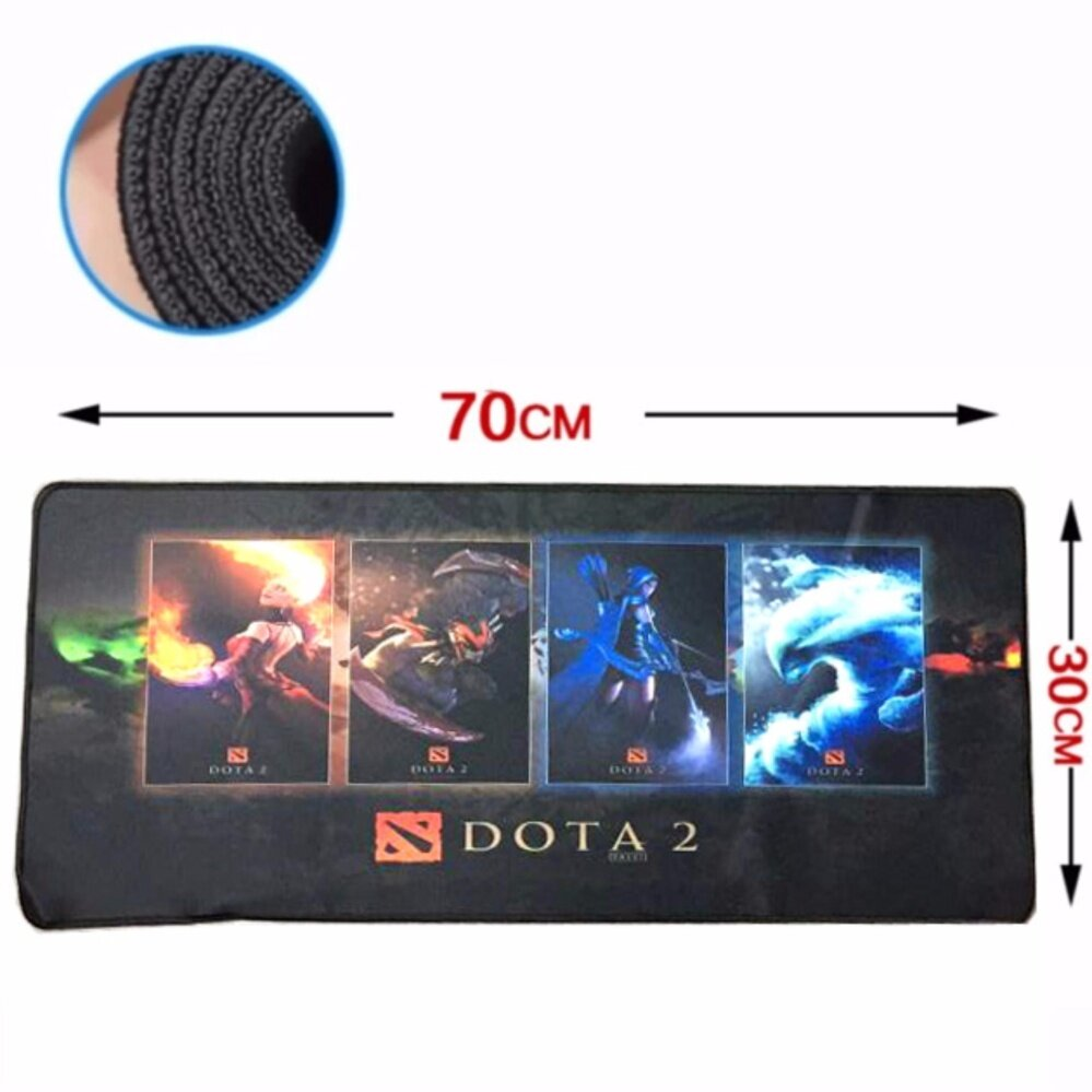 Big Size 70 x 30 x 0.2cm Gaming Mat Non-slip Anti Fray Stitching High Quality Beautiful Mouse Pad Malaysia
