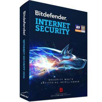 BitDefender Internet Security 2017 1 Year 1 User 1 Device