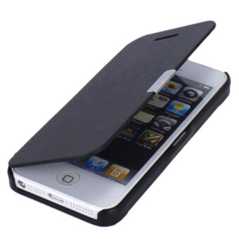 Top Tire Brands >> Bluelans® Magnetic Flip Cover for iPhone 5/5S/SE/5G (Black ...