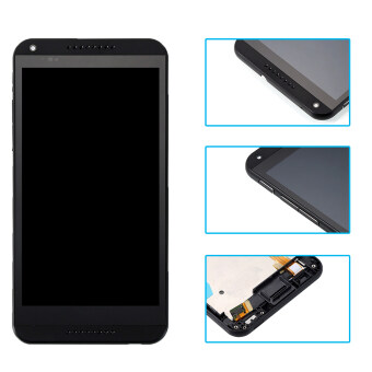 Bluesky LCD Display For HTC Desire 816 816W D816x Touch Screen withDigitizer Assembly + Bezel Frame + Tools Black