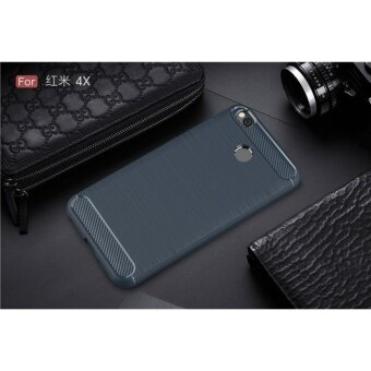 Brushed TPU Soft Cover Case For Xiaomi Redmi 4X