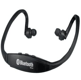 BS19 Wireless Bluetooth On-ear Sports Headset Headphones (Black)