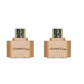 [BUNDLE] 2PCS X 4Connect Mini USB Flash Disk OTG Converter Adapterfor Android