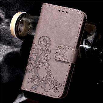 Intl Source · BYT Flower Debossed Leather Flip Cover Case for Oppo R9s .