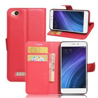 BYT Leather Flip Cover Case for Xiaomi Redmi 4A