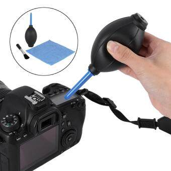 Camera Lens Screen Cleaning Dust Blower Brush Cleaning Cloth KitFor DSLR Cameras