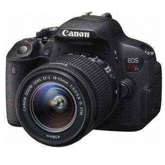 Canon EOS 700D Kiss X7i + 18-55mm Lens Kit (Black)