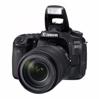 Harga Canon EOS 80D 24.2-Megapixel EF-S 18-135mm F/3.5-5.6 IS Nano USMZoom Lens [Lens Kit]