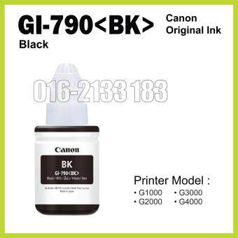 Harga Canon Original Ink (GI-790 Black) // Canon Printer G1000 / G2000 /G3000 / G4000