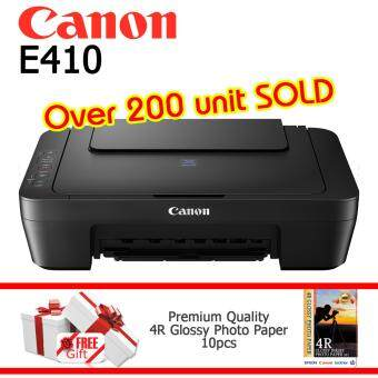 Harga Canon Pixma E410 Color Inkjet Multifunction Printer New Model of Canon E400
