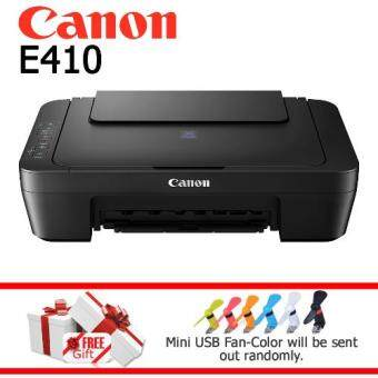 Harga Canon Pixma E410 Color Inkjet Multifunction Printer Similiar with Canon E400