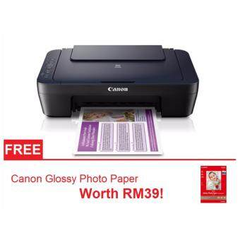 Harga Canon Pixma E460 Wireless All-in-One Printer Free Canon GlossyPhoto Paper