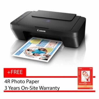 Canon PIXMA E470 Wireless Ink Efficient Multifunction Printer Black Print Scan Copy Inkjet printer PG47 CL57 cartridge E-470 E 470 wifi - 1365C012AA
