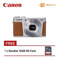 Canon PowerShot G9X Digital Camera Silver + 16GB SD Card