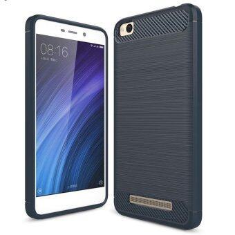Carbon Fiber Texture Brushed Soft Silicone TPU Back Cover Shockproof Protective Phone Case For Xiaomi Redmi 4A