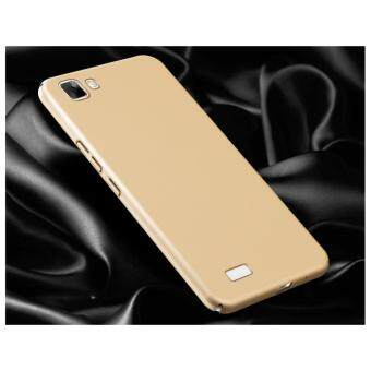 Case 360 Degree Protective Case Ultra Thin PC Hard Case for VIVOY35(Gold) - intl