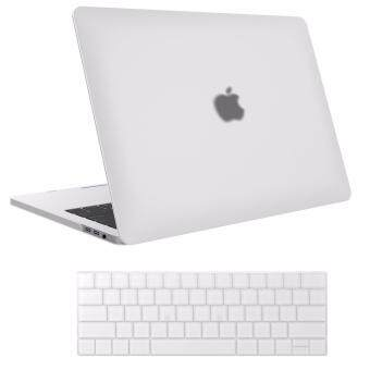 Case MacBook,MacBook Pro13 inch Case,MacBook Pro13 inch A1706/A1708 Case 2017 & 2016 Release A1706/A1708, (Frosted shell With keyboard membrane)MacBook Pro -(White)