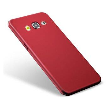 Classic High Quality 360 ultra-thin matte PC hard Protection Highquality classic Cover Case For S amsung Galaxy A7 2015(A7000(Red) -intl