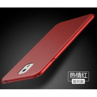 Classic High Quality 360 ultra-thin matte PC hard Protection Highquality classic Cover Case For S amsung Galaxy Note3(N9006(Red) -intl