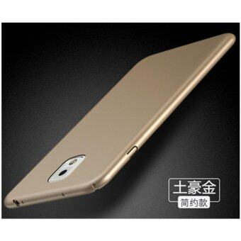 Classic High Quality 360 ultra-thin matte PC hard Protection Highquality classic Cover Case For S amsung Galaxy Note3(N9006(Royalgold) - intl