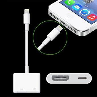 Cocotina Lightning for HDMI HDTV AV Cable Digital TV Adapter ForA1438 Air ipad Mini Pro Pencil Projector - 4