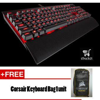 Harga CORSAIR K70 LUX Mechanical Gaming Keyboard -- Red LED -- Cherry MXRed
