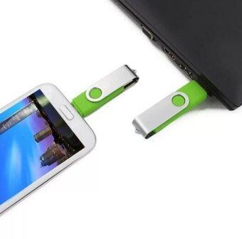 Cut rotational memory storage stick u disk pendriver 8GB usb2.0 pendrive usb flash drive(Green) - Intl - 4