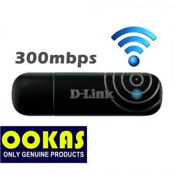 Harga D-LINK 300Mbps USB Wireless N WiFi Adapter DWA-132 with WPS