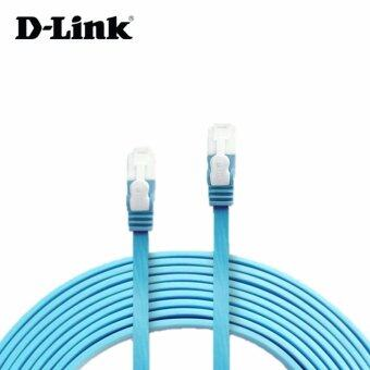 Harga D-link Cat 6 Flat Ethernet Cable 1 Meter D-NCB-C6UF-10