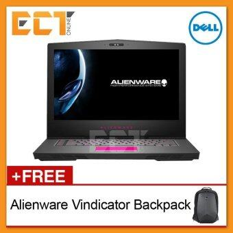 "Harga Dell Alienware CA15FHDG-771128G-W10 15.6"" Gaming Notebook(i7-7700HQ 3.80Ghz 1TB+256GB,16GB,GTX1070-8GB, W10)"