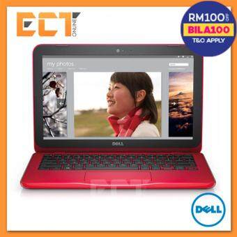 Dell Inspiron 11 3162-0525SG-W10 Multimedia Notebook (N3050 2.16GHz,500GB,2GB,11.6,W10) - RED Malaysia