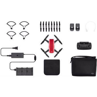 Dji Spark flymore more COMBO color : Red ( Dji Malaysia Warranty )