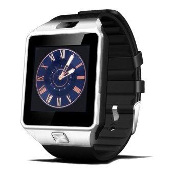 DZ09 Smart Watch Bluetooth TouchScreenforAndroidandiOS(SilverBlack)