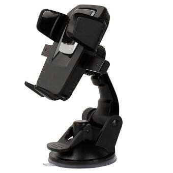Fitur Easy One Touch 3 Car Mount Universal Phone Holder For Iphone 7