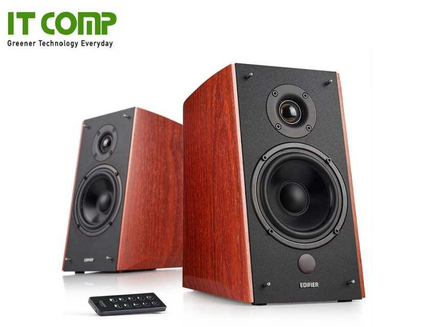 สอนใช้งาน  สงขลา Myzone Edifier R2000DB Bookshelf Speaker With Bluetooth - Wood