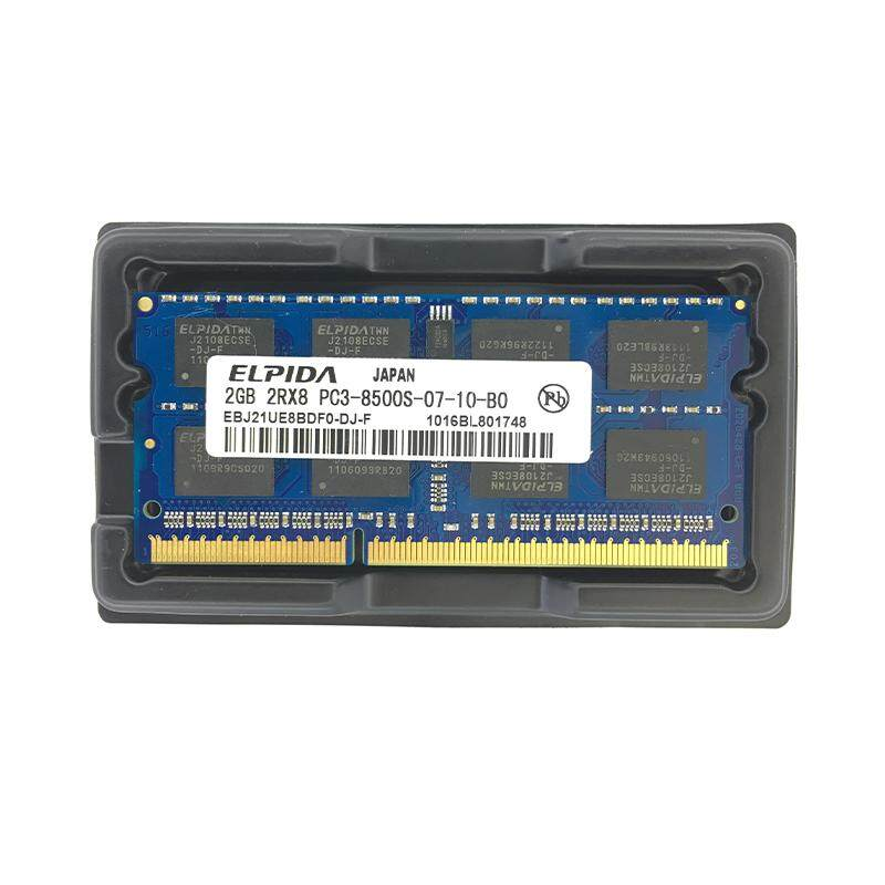 Xin CX-Elpida DDR3 2 GB 1066 MHz PC3-8500 Memori Memori So-dimm Laptop 2 GB PC3-8500 Memoria buku Catatan-Internasional