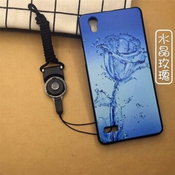 Malaysia Prices EM3 vivoy31 mobile phone shell with a lanyard y31A protectivesleeve BBK Y31L shell black T Silicone for men and women