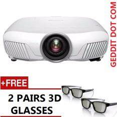 EPSON EH-TW8300 HOME THEATRE FULL HD 1080P 3LCD PROJECTOR (WITH 4K ENHANCEMENT) FREE 2 PAIRS 3D GLASSES