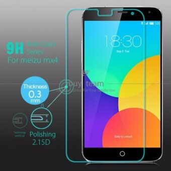 Harga Explosion-Proof Film High Quality Protective Guard Tempered GlassScreen Protector for Meizu MX4 - Int'L