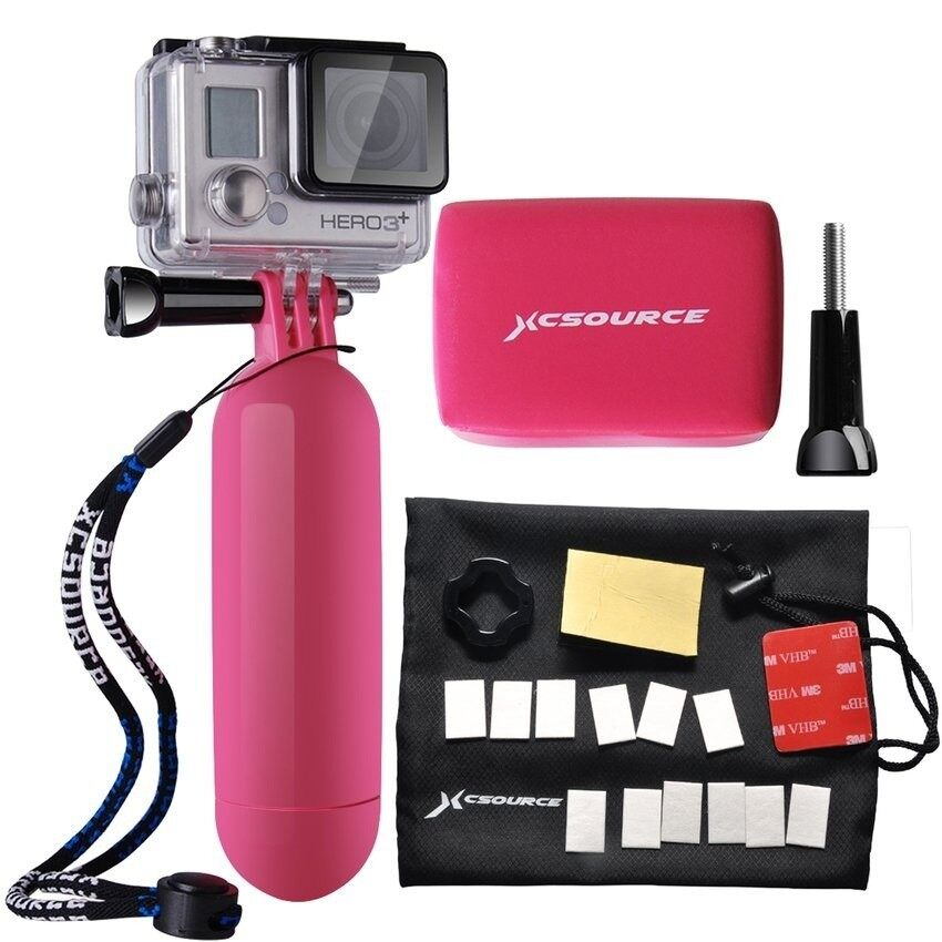 F Action Camera Accessories Bundle Set Kit Forgopro1/2/3/3+/4(Pink) – intl