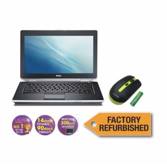 Harga Factory Refurbished Notebook Dell Latitude E6430, 3rd Gen,i5, 4GB, 320GB,Win 7 (Free Wireless Mouse)