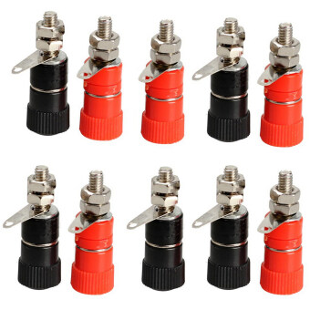 Harga Fang Fang Amplifier Terminal Binding Post Banana Plug Jack MountConnector