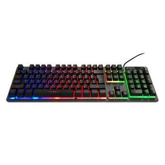 FANTECH FIGHTER K611L Full Size Edition Backlit Floating-Keys Multimedia Gaming Keyboard With Chroma Backlighting For PC/Laptop Gaming Malaysia