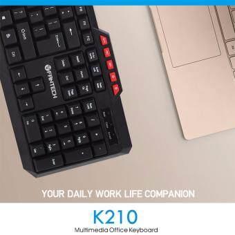 FANTECH [SP16] K210 Multimedia Office Keyboard 114 Key Wired USB 2.0 For PC/Laptop Malaysia