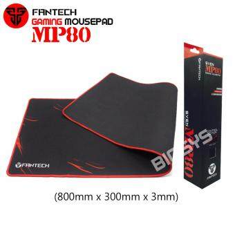 Fantech SVEN MP80 High Non-Slip Base Gaming Mouse Pad with Edge Sewed (Black mix Red)