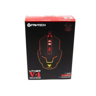 Fantech Uther V4 2400 DPI LED OPtical 6D USB Wired Gaming Mouse with Chroma Luminous Logo (Black) Malaysia